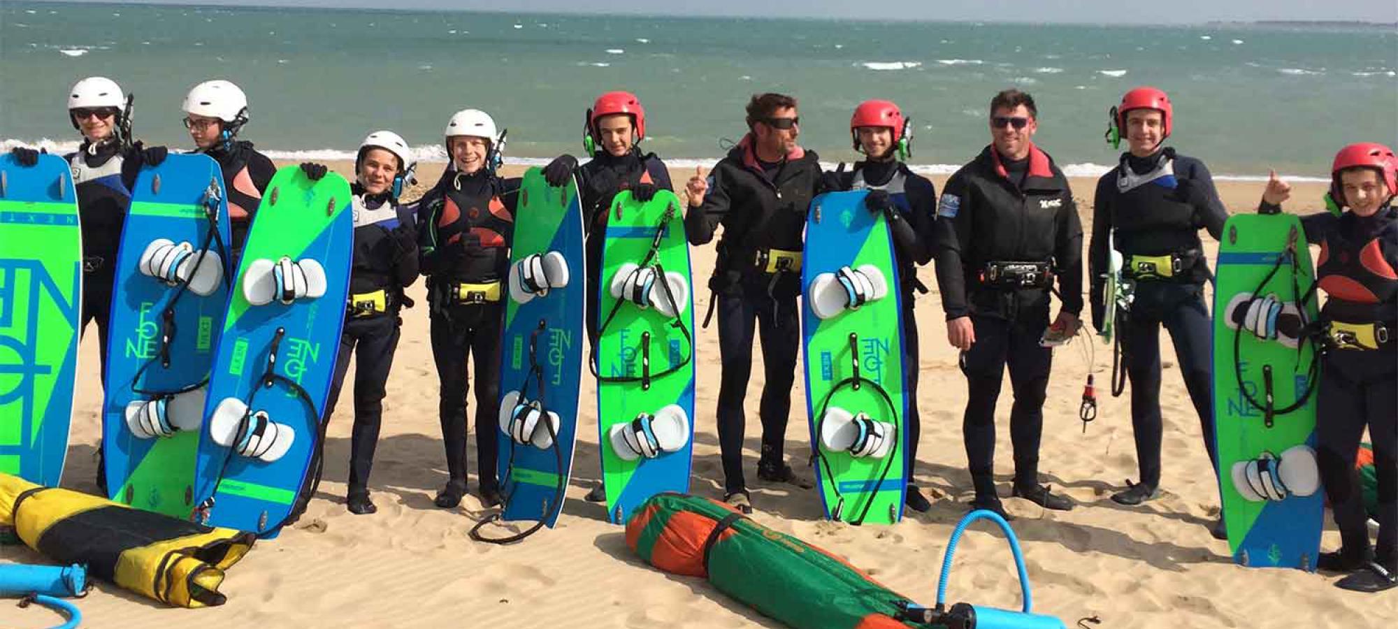 Cours ados Kite Surf