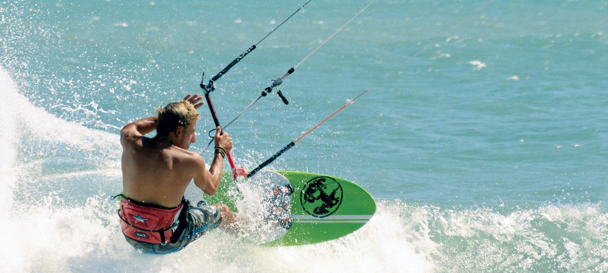 Kite surf ouvert à l'année